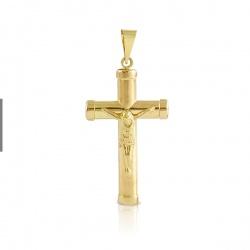 Cruz mediana con Cristo