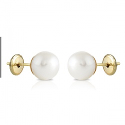 Casquilla lisa perla 7mm