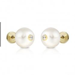 Casquilla perla boton 8